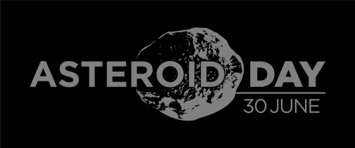 Asteroid Day - Negative Grey